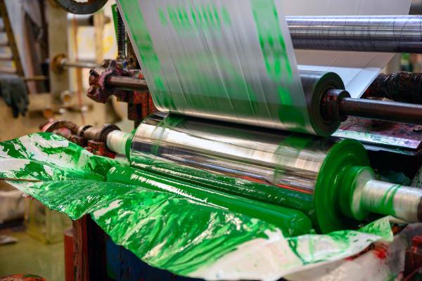 フレキソ印刷を採用